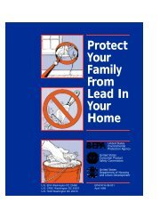 Protect Your Family From Lead In Your Home - CT.gov