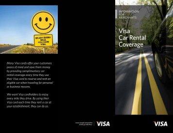 Visa Car Rental Coverage