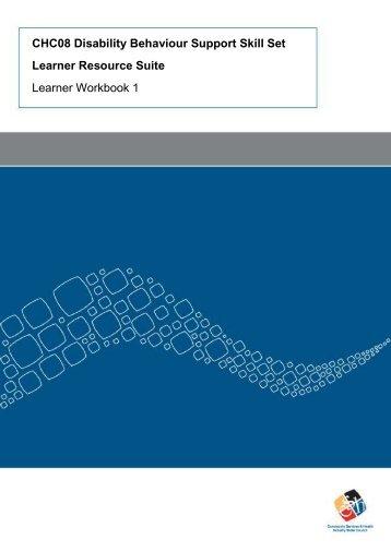Learner Resource Workbook 1 - Community Services & Health ...