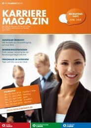 karriere magazin - Recruiting Days