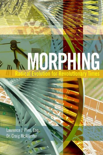 Morphing: Radical Evolution for Revolutionary Times - Morphing by ...