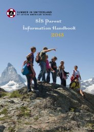 View a PDF of SIS Parent Information Booklet - Leysin American ...