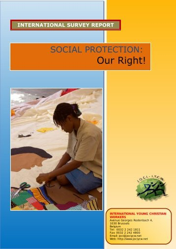 Social Protection in - JOCI-IYCW