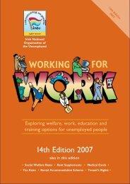 Working for Work - Irish National Organisation of the Unemployed