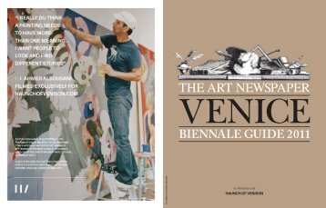 BIENNALE GUIDE 2011 - The Art Newspaper