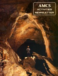 7MB PDF - Association for Mexican Cave Studies