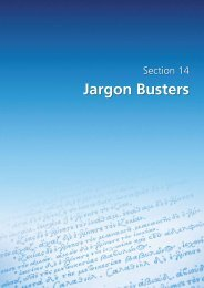 Section 14 - Jargon busters