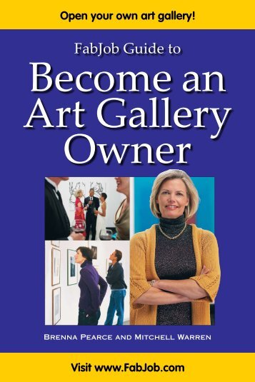 Become An Art Gallery Owner - Fabjob.com