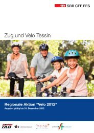 Zug und Velo Tessin 2012 - Tilo