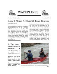 waterlines - Poudre Paddlers Canoe and Kayak Club of Colorado
