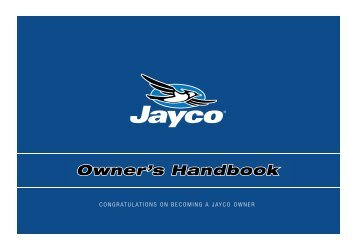 Congratulations On Becoming A Jayco Owner