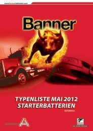 TYPENLISTE MAI 2012 STARTERBATTERIEN