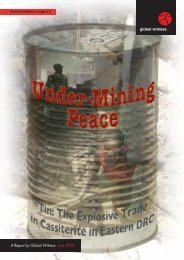 Under-Mining Peace 30.06 - Global Witness