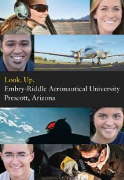 Viewbook - Embry-Riddle Aeronautical University - Prescott, Arizona ...