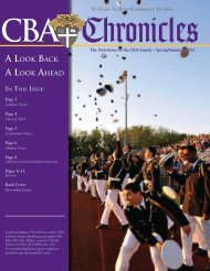 Chronicles - Christian Brothers Academy