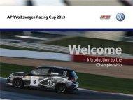 2013 championship info - Volkswagen Racing Cup