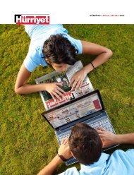 HÜRRİYET ANNUAL REPORT 2010