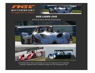 Ligier Rental - NGT Motorsport