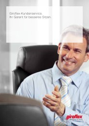 Giroflex-Kundenservice. Ihr Garant für besseres Sitzen.