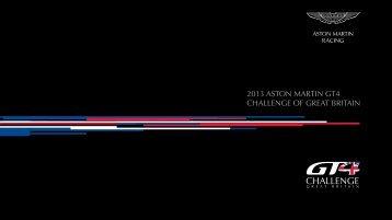 2013 ASTON MARTIN GT4 CHALLENGE OF GREAT BRITAIN - NET