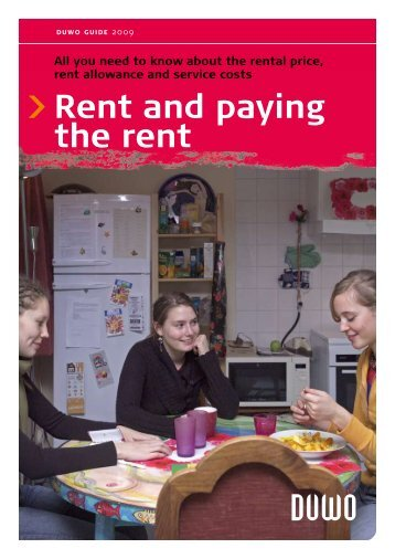 Rent and paying the rent - Duwo