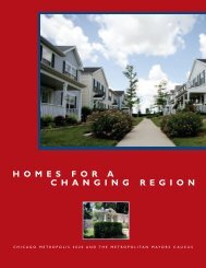 Homes for a Changing Region - Metropolitan Planning Council