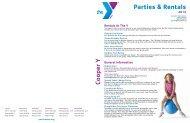 Parties & Rentals Cooper Y - Ymca