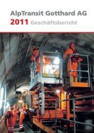 Corporate Governance Verwaltungsrat - Alptransit Gotthard AG