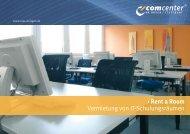 Rent a Room Vermietung von IT-Schulungsräumen - Com Center Dr ...