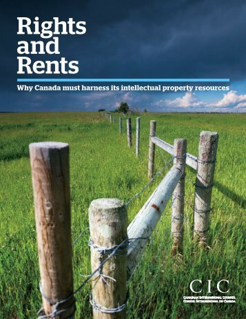 Rights and Rents - Canadian International Council