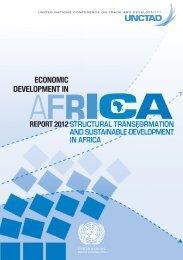 Economic Development in Africa Report 2012 - Unctad