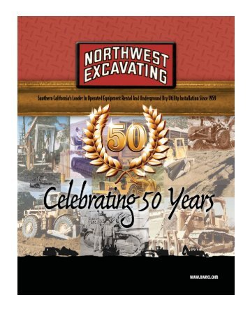 50th Anniversary special edition magazine - NORTHWEST ...