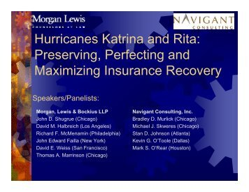 an analysis of the two attacks by the hurricanes katrina and rita This is the fourth esa report on economic impacts of hurricanes katrina and rita on the national economy, the economies of louisiana, mississippi, and alabama, and the new orleans, louisiana and the gulfport-biloxi, mississippi metropolitan statistical areas (msas) the first two reports were issued in october and december 2005 the third.