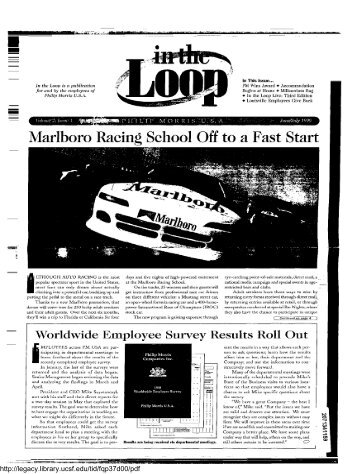 Marlboro Racing School Off to a Fast Start - Legacy Tobacco ...