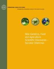 New Genetics, Food and Agriculture - International Council for Science