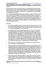 Swiss GAAP FER Nr. 26 Rechnungslegung von ...
