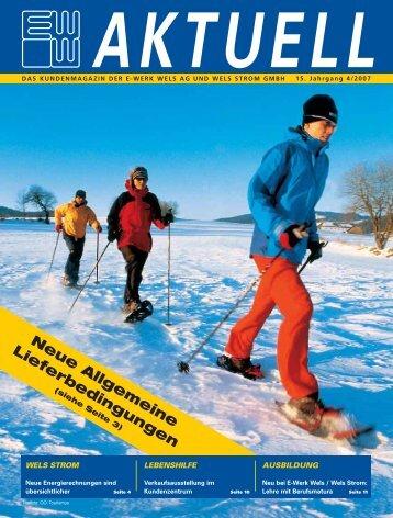 Ausgabe 4/2007 (PDF - 1 2 MB) - im E-Werk Wels