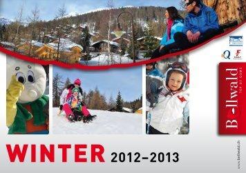 Winter 2012–2013 - Bellwald Tourismus
