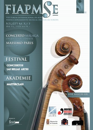 JUVENTUDES MUSICALES - South from Granada