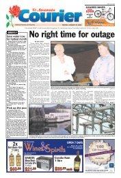 Te Awamutu Courier - January 29th, 2008 - Te Awamutu Online