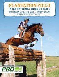 plantation Field International Horse Trials - Fairmount Public Relations