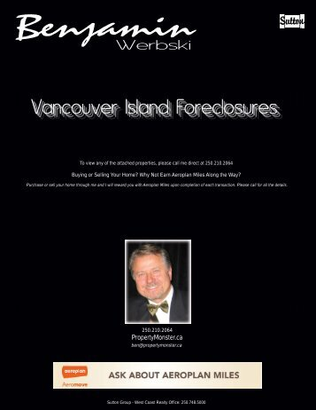 Vancouver Island Foreclosures
