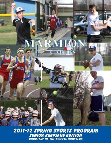 Spring Sports Book.indd - Marmion Academy