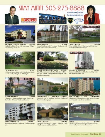 Dade Homes Real Estate Magazine - Visit Website