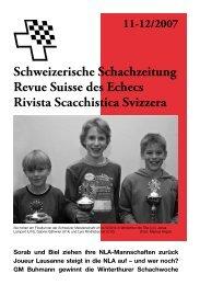 Schweizerische Schachzeitung Revue Suisse des Echecs Rivista ...
