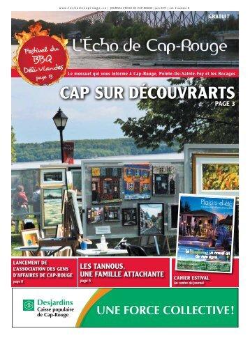CAP SUR DÉCOUVRARTS - L'Écho de Cap-Rouge