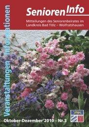 Senioren-Info Nr. 4/2012 - Stadt Wolfratshausen