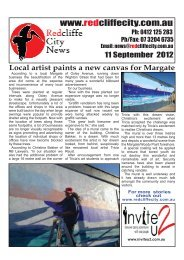 2012 09 11 Edition 367 - Redcliffe City News