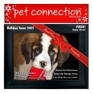 2011 Nov/Dec (PDF) - Pet Connection Magazine