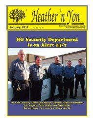 HG Security Department is on Alert 24/7 - Homeowner Association ...